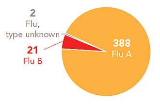 Follow this link to view a table of all positive flu reports