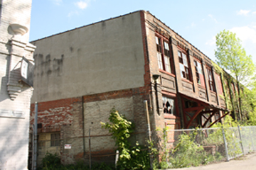 image showing abandoned building