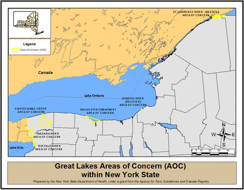 image showing Great Lakes Areas of Concern