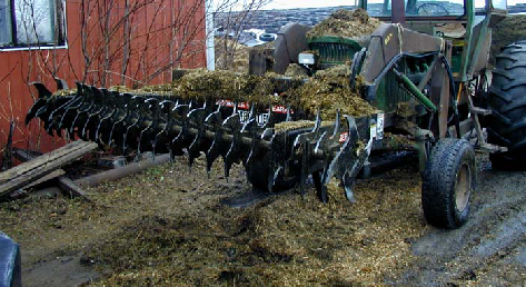 Figure 2 - Silage defacer involved in the incident