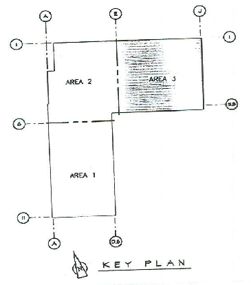 floor plan on the precast concrete ten-story building