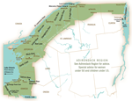 map of St. Lawrence Valley Region New York waterways