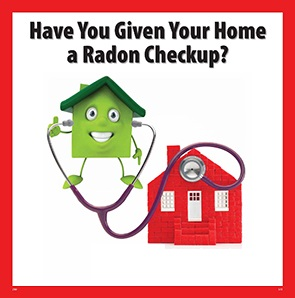 Test Your Home for Radon poster