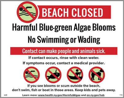 Images of beach closed sign