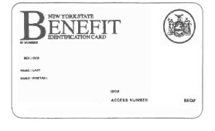 Benefit Card