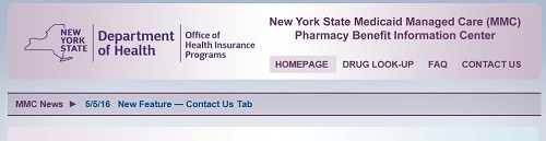 Image of Pharmacy Benefit Screen
