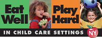 Eat Well Play Hard in Child Care Settings Logo