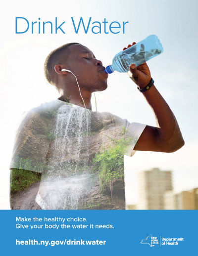drink water ad