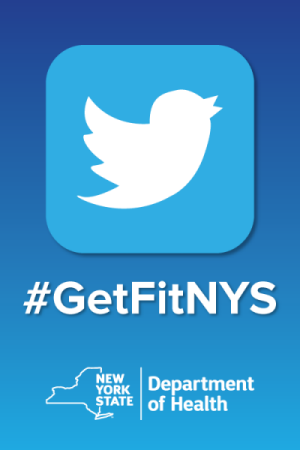 Join the conversation on twitter #GetFitNYS