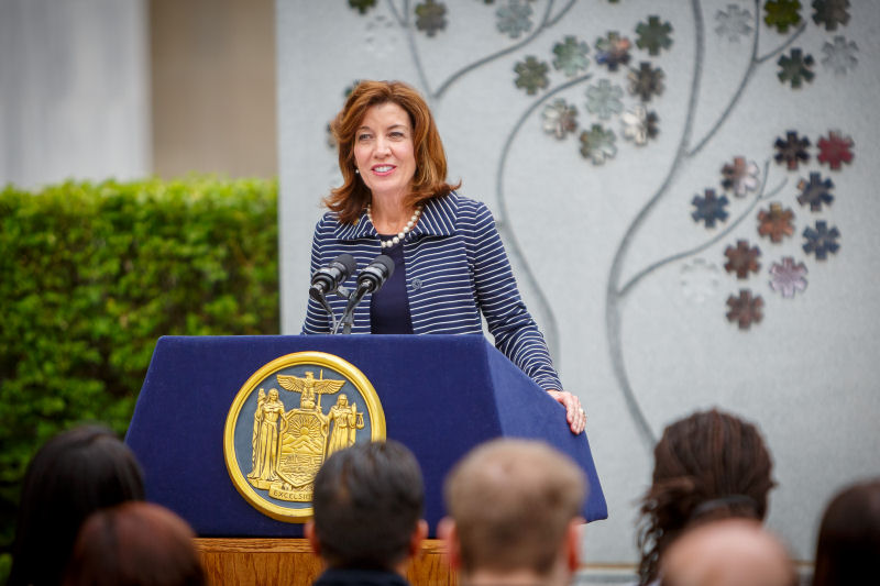Image of Lieutenant Governor Kathy Hochul Speaking