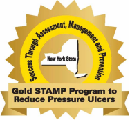 Gold STAMP Program to Reduce Pressure Ulcers Logo